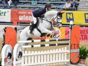 Benjamin Saurugg (AUT/ST) wird bei den Weltmeisterschaften der jungen Springpferde in Lanaken (BEL) gleich vier Pferde am Start haben. © horsesportsphoto.eu