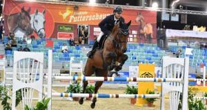 Markus Saurugg (ST) und Baloubet By Etl sorgten für den ersten österreichischen Sieg im Rahmen des 20. CSI Arena Nova. © horsesportsphoto.eu