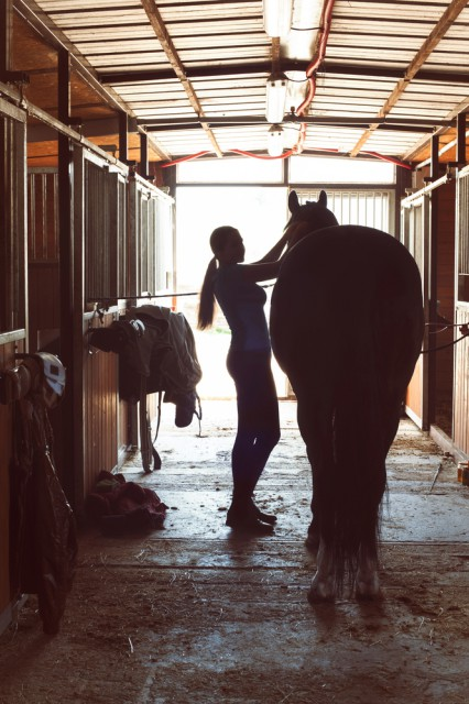 Bestärke dich und damit auch dein Pferd nach einer langen Saison! © Shutterstock | AnnaElizabeth photography