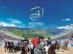 Das ist das offizielle Poster der FEI World Equestrian Games 2018. © tryon2018