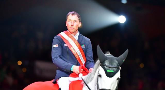 Hans-Dieter Dreher (GER) und Cool and Easy waren die Sieger im Championat von Salzburg bei den Amadeus Horse Indoors. © im|press|ions – Daniel Kaiser