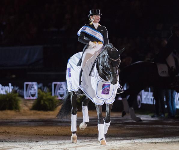 Weihegold OLD unter Isabell Werth liegt in der Statistik der best verdienendsten Dressurpferde auf Platz eins. © FEI/Cara Grimshaw
