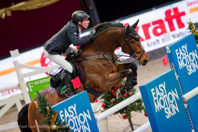 Rang zwei der zweite Qualifikation zum Großen Preis vom Sportland Salzburg ging an Hans-Dieter Dreher (GER) und Berlinda. © Michael Graf