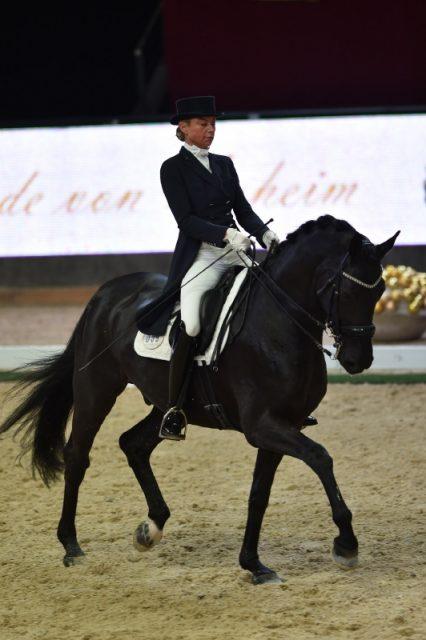 Stephanie Haag (GER) und APTs Darius Royal belegten Rang drei für Deutschland. © Fotoagentur Dill