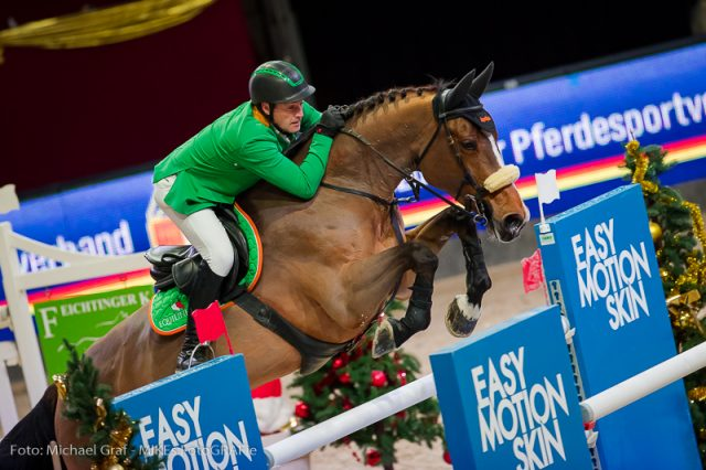 Best Austrian in four-star competitions: Alpenspan rider Gerfried Puck (ST). © Michael Graf