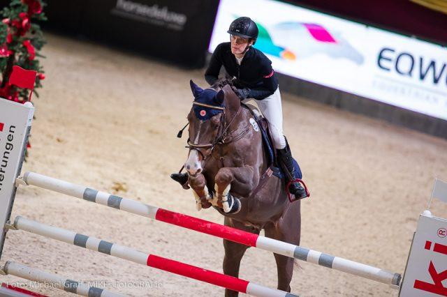 Hanna Katrin Stephan führt deutschen Doppelerfolg in der Big Tour an. © Michael Graf