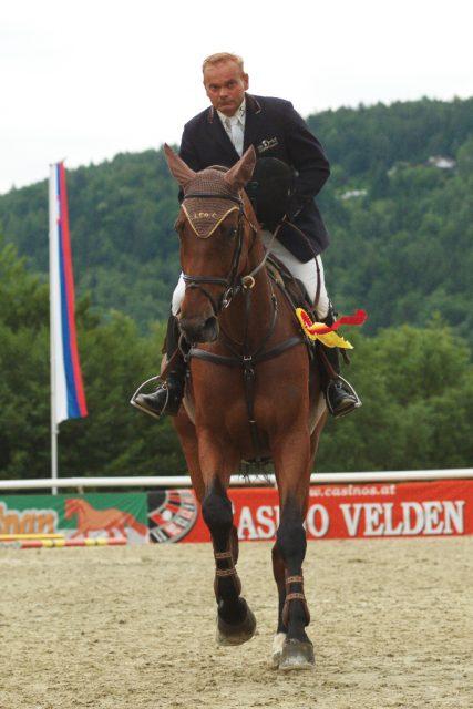 Willi Melliger wird fehlen in der Welt des Reistsports! © CSI Maria Wörth
