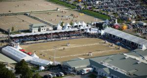 Beeindruckendes 200 Hektar großes Reiter- und Pferdeparadies: Magna Racino. Foto © Jürgen Hackl