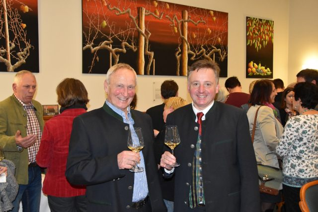 NOEPS-Präsident Gerold Dautzenberg und Kulturreferent Otto Kurt Knoll. © NOEPS
