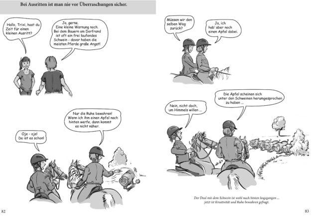 Überraschungen beim Ausreiten ... © Verlag für Chronische Gesundheit, Günter Veichtlbauer/Gabriele Krisch