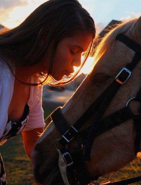 Mit negativen Emotionen auf dein Pferd aufzusteigen bringt erstmal gar nichts! © Pexels