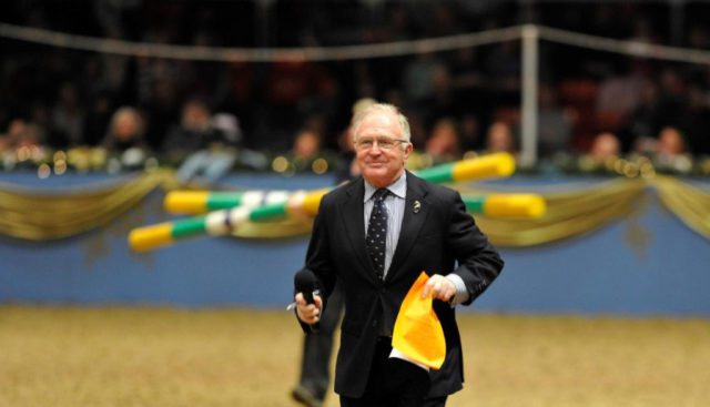 MIKE TUCKER (1944 - 2018) © The London International Horse Show