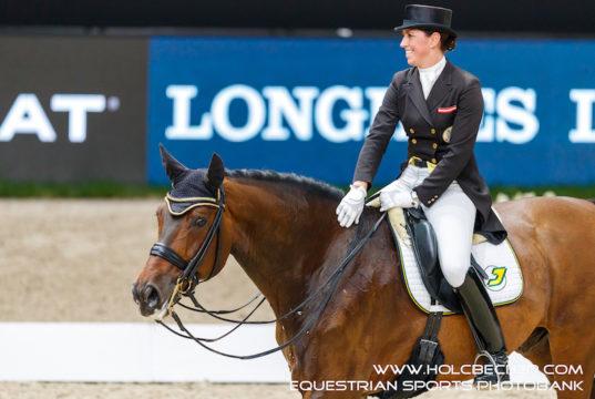 Belinda Weinbauer (B) und Söhnlein Brilliant MJ. © OEPS/Tomas Holcbecher