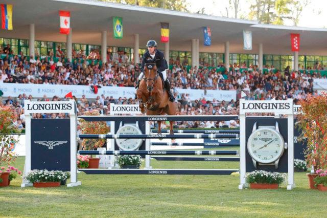 Ben Maher gewinnt bei der Longines Global Champions Tour in Madrid was es zu gewinnen gibt! © LGCT / Stefano Grasso