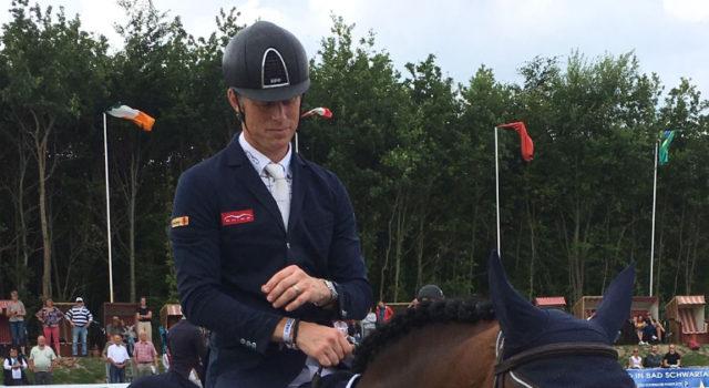 Super! Platz 2 für Max Kühner und Cielito Lindo 2 im CSI4* Grossen Preis der DKB in Groß Viegeln. © Max Kühner Sporthorses