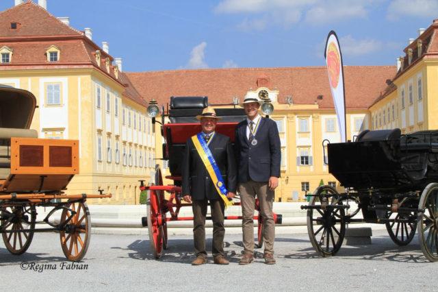 Landesmeister Josef Stickelberger vom Reit- und Fahrverein Langenberg. © Union RuFV Schloss Hof