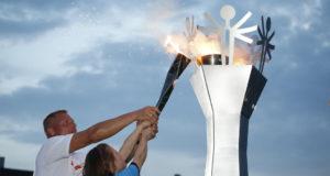 Feierliche Eröffnung der 7. Nationalen Special Olympics Sommerspiele. © Susanne Müller