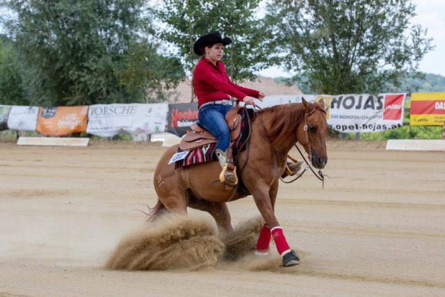 Sandra Huemer und Kaliz Golden Walker komplettierten das Team punkteten in der Non Pro. © www.stadlmairfotografie.at