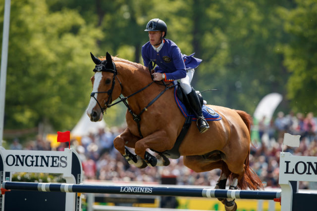 Marcus Ehning kommt nach Berlin zum Global Jumping in den Sommergarten. © Sportfotos-Lafrentz.de