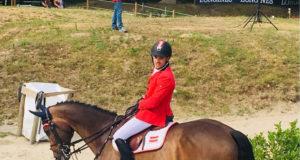 Mega! Felix Koller (OÖ) wird am Sonntag geht als Zweitbester ins Finale der 30 besten Young Rider Europas gehen. Daumen drücken ausdrücklich erlaubt! © Facebook Reitstall Schloss Kammer