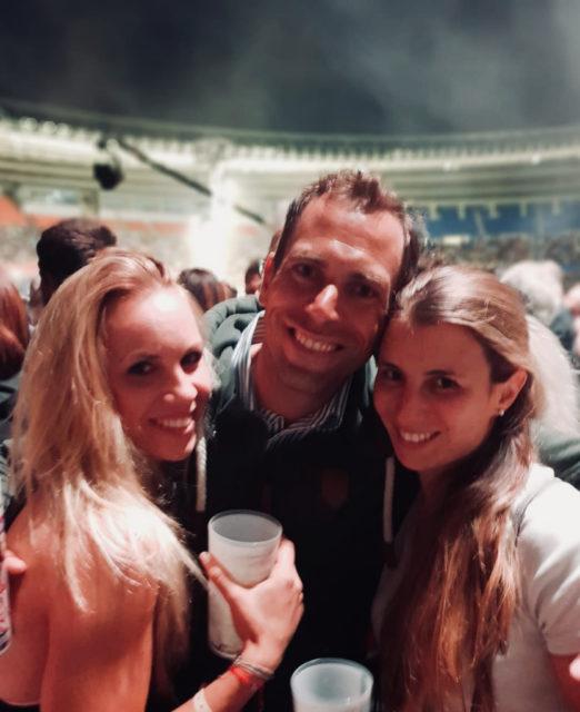 """Fixkraft-Dressurreiter & Trainer Christian Schumach und """"seine Mädels"""" - Karoline Valenta und Franziska Fries - werden in Aachen gemeinsam mit Diana Porsche in der U25 Tour ihr Bestes für Österreich geben . © privat"""