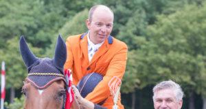 2017 war Jan van Beek im Rahmen des CICO in Wr. Neustadt (AUT/NÖ) erfolgreich am Start. © Michael Graf