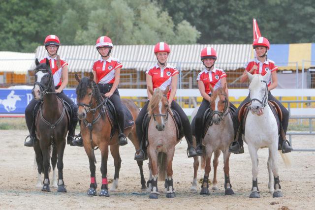 Impressionen von der EM Mounted Games 2018 in Frankreich. © mountedgames.at