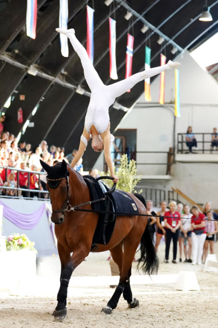 Europameisterin Junioren Damen 2018: Fabienne Nitkowski (GER). © Andrea Fuchshumer