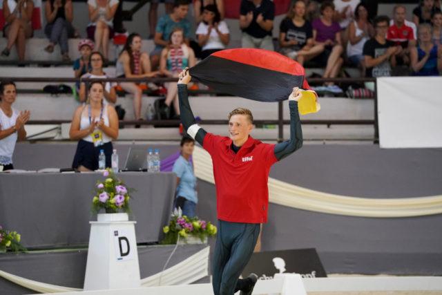 Europameister Junioren Herren 2018: Gregor Klehe (GER). © Andrea Fuchshumer