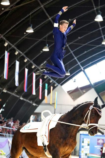 Vize-Europameister Junioren Herren 2018: Jannik Liersch (GER). © Andrea Fuchshumer