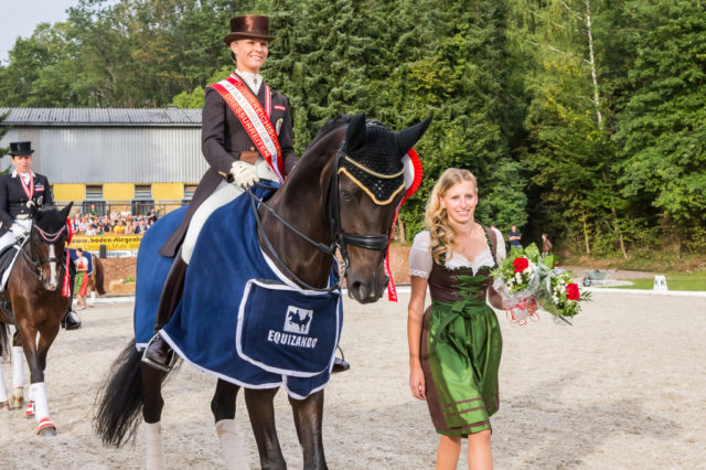 2015 siegte Victoria Max-Theurer in Steyr. © OEPS | Andreas Schnitzlhuber