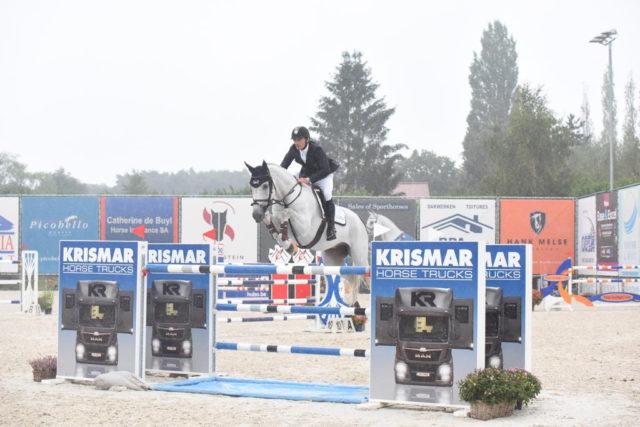 Stefan Eder (S) und Dr. Scarpo wurden Zweite im Großen Preis von Lamprechtshausen. © privat