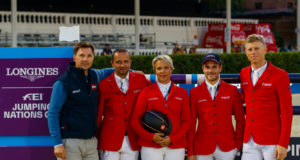 Team Austria holt sensationell Platz 1 in Runde 01 vom Nations Cup Finale in Barcelona. © OEPS/Tomas Holcbecher