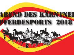 Einladung zum Abend des Kärntner Pferdesports 2018. © Landesfachverband für Pferdesport in Kärnten