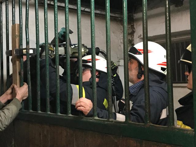 Die Freiwillige Feuerwehr St. Pölten – Wagram wurde am Mittwoch, den 10. Dezember zu einem Einsatz im Reitclub gerufen. © FF St. Pölten-Wagram/ LM Andreas Scharnagl