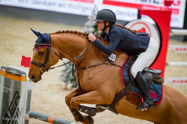 Zweiter Tag, zweite Big Amateur Tour, zweiter Sieg für Josefina Goess-Saurau (B) und Cassijo. © Michael Graf