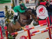 Salzburg Grand Prix-Sieger 2016 Gianni Govoni (ITA) springt mit neuem Pferd zum Sieg im Stall Römerhof Championat von Salzburg. © Michael Graf