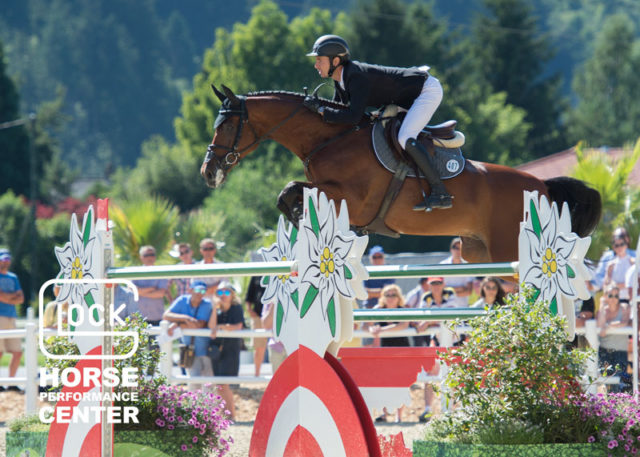 Die Nummer eins der Welt, Steve Guerdat, gehört zu den gern gesehenen Stammgästen im GLOCK HORSE PERFORMANCE CENTER Austria! © Nini Schäbel