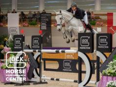 Platz drei für Österreich! Willi Fischer (OÖ) und Colmar 2 lieferten eine tolle Runde ab in der GLOCK's 2* Tour an Tag 02 vom International Show Jumping im GHPC Austria. © Nini Schäbel