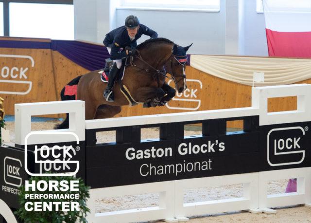 Bester Österreicher im CSI5* Gaston Glocks's Championat 2019 war der Sechstplatzierte der Weltreiterspiele 2018 und Österreichs Nummer eins, Max Kühner (T). © Nini Schäbel