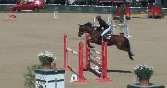 Mit der einzigen Nullrunde ging der Happy Horse Pony Grand Prix im Magna Racino verdient an Ludovica Goess-Saura und ihr Pony Valmy De Treille. © privat