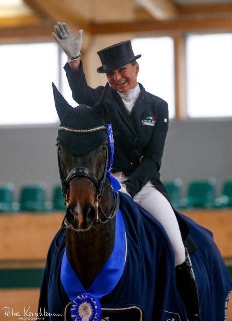Dorothee Schneider (GER) und Showtime FRH waren die überragenden Sieger in der Grand-Prix-Special-Tour des CDI4* Racino Dressage Classics © Petra Kerschbaum