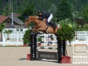 Josefina Goess-Saurau und Mine That Bird sorgten für das beste österreichische Ergebnis in der GLOCK's 2* Tour bei Horses & Stars im GHPC Austria. © Nini Schäbel