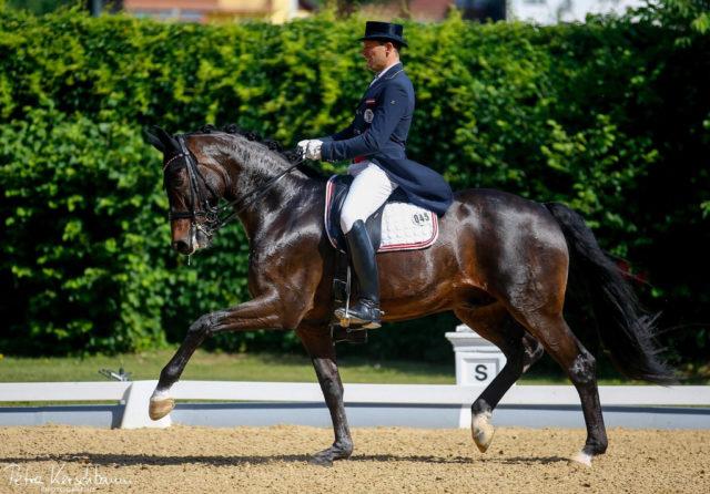 70,638% und damit Platz 6 im Grand Prix Spezial für Christian Schumach und Sinclair Jason. © Petra Kerschbaum