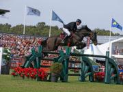 Matthias Raisch und Quantus im CSIO5* Falsterbo Derby (1,50 m). © World of Showjumping