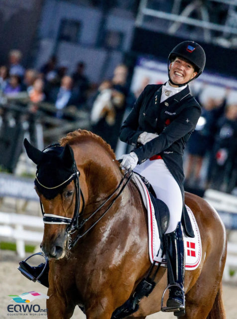 Bronze im Grand Prix Special! Cathrine Dufour (Dänemark) mit ihrem 16-jährigen DWB Walach Atterupgaards Cassidy (Caprimond x Donnerhall). © Petra Kerschbaum