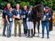 Platz neun war es heute für das österreichische Para-Dressur-Team. © OEPS | Thomas Holcbecher
