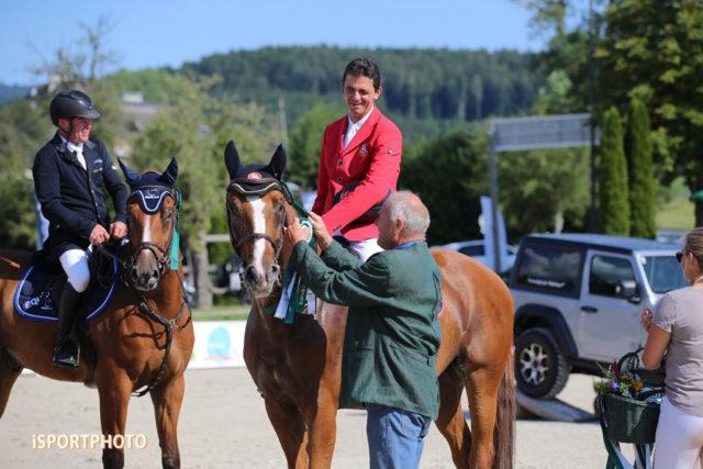 Platz 2 für Peter Englbrecht beim Heimturnier vor dem Casino Grand Prix-Finale. © iSPORTPHOTO