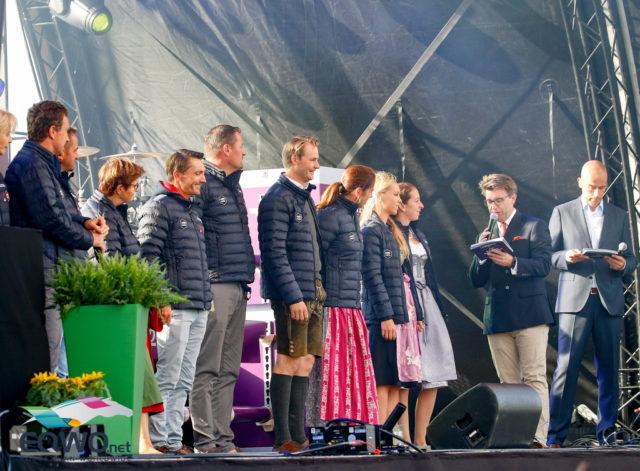 Team Austria bei der heutigen Eröffnungszeremonie der Europameisterschaften in Rotterdam 2019. © Petra Kerschbaum