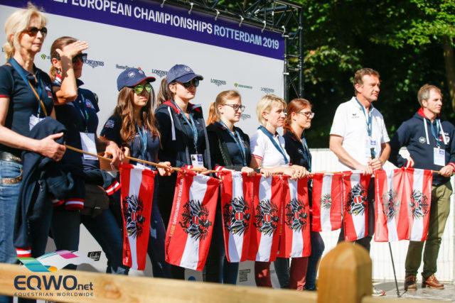 Unterstützung gibt es vom ganzen Team Austria und da sind natürlich auch Vielfach-Europameister Pepo Puch und Bernd Brugger mit dabei.© Petra Kerschbaum